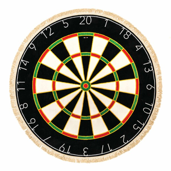 BLOW by JOBandSELETTI Dartboard Rug Teppich 380_18120