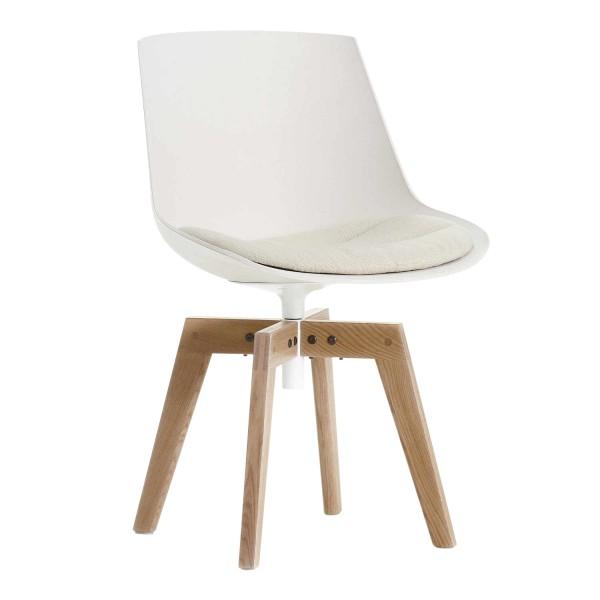 MDF Italia Flow Chair Eco 4 Füsse Eiche Stuhl 37_F052121