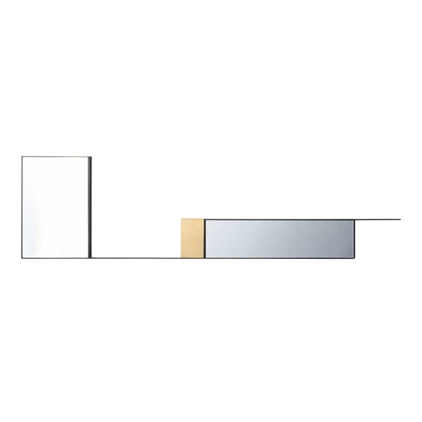 MDF Italia Mirror Lines Composition 2 Wandspiegel 37_F101902
