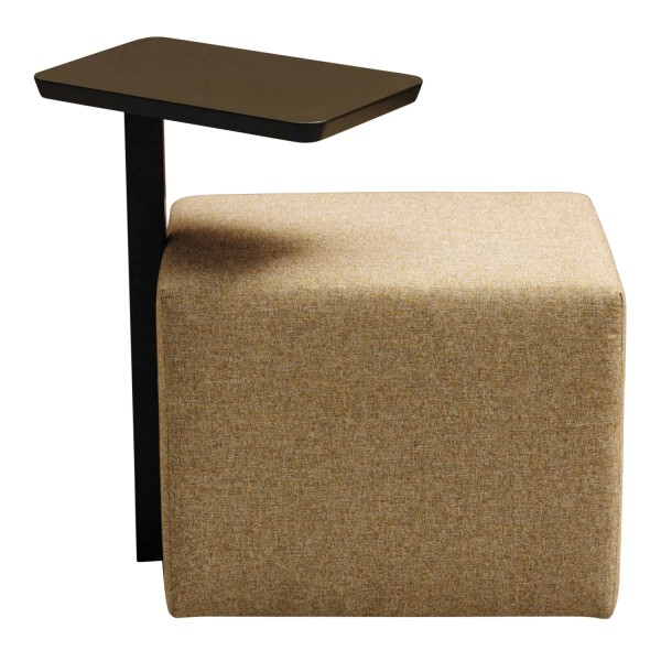 Schramm Panel Beistelltisch mit Hocker 396_PANEL-TABLE