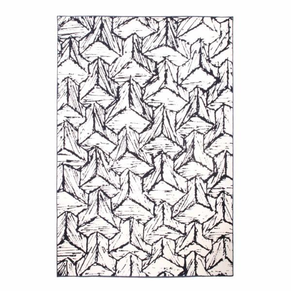 schoenstaub Black and White Teppich 410_BLACKWHITE