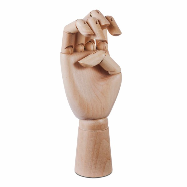 Hay Wooden Hand Skulptur 95_WOODEN-HAND